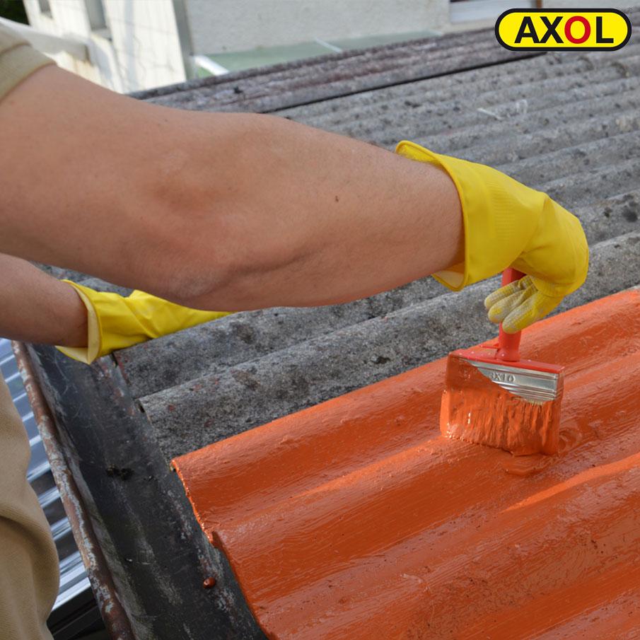Vorschau Faserzement Mit AXOL Beschichten Wasserdichter Dichtanstrich Fur Wellplatten