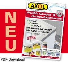 AXOL-Dichtstoffe Garagendach Flachdach abdichten